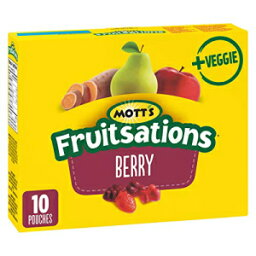 Mott's Fruitsations + Veggie Gluten Free Berry, 10ct, 226g/8oz, Imported from Canada}