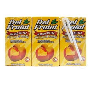 Del Frutal Mango Nectar 6.76 oz - Sabor Mango (
