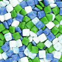 Global Gumball Chiclet Gum Tabs - Assorted Colors Refresh Triple Mint Chewing Gum - Chicle Tab Bulk Package, 2.5 lb