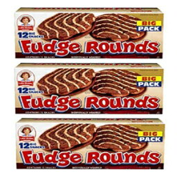 Little Debbie Fudge Rounds BIG Pack: 36 Individually Wrapped Packs by Little Debbie