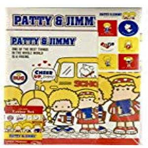 キッズ・ベビー・マタニティ, その他 Yamanoshigyo Sanrio Patty Jimmy Letter Set 12 Writing Paper 6 Envelopes 7 Stickers Stationary Japan (School life)