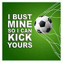 Funny and Motivating Art Print Quote about Soccer