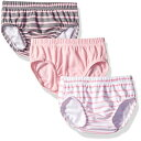 Hanes Ultimate Baby Flexy 3 Pack Diaper Covers, Pink Stripe, 18-24 Months