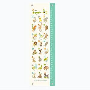 インテリア・寝具・収納, その他 Sea Urchin Studio Animals Growth Chart, Alphabet ABC Nursery Wall Decor, Kids Growth Chart, Wall Growth Chart, Wall Height Chart, Kids Height Chart
