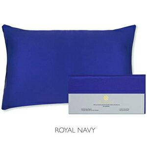 寝具, その他 Beauty of Orient - 25 Momme 100 Pure Mulberry Silk Pillowcase for Hair and Skin - Natural Hypoallergenic Silk Pillow Case - Best for Beauty Body and Sleep (Standard - 20 x 26, Royal Navy)