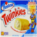 Visit the Hostess Store Hostess Twinkies 385 g (Pack of 1, Total 10 Cakes)