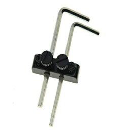 KAISH Guitar Bass Allen Key Headstock Wrench Holder for Floyd Rose Tremolo Black