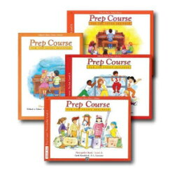 CMC Alfred's Basic Piano Prep Course Level A - Four Book Set - Includes Lesson, Theory, Technic, and Notespeller books