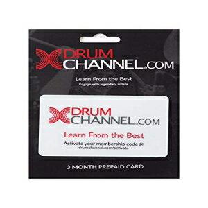 Drum Channel Prepaid Gift Card, 3 Months (DCPC3M)