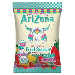 アリゾナリアルフルーツスナック| すべての天然グミフルーツスナック+ヘルシーフルーツチュー| 防腐剤、人工着色料、フレーバーなし5オンスバッグ(12パック) Arizona Real Fruit Snacks | All Natural Gummy Fruit Snacks + Healthy Fruit Chews | N