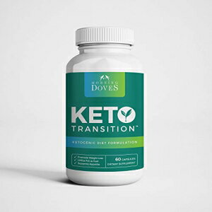 [Inventory Closeout Special :: Keto Pills] Morning Doves :: KetoTransition Supplement with BHB :: cGMP Compliant Food Grade :: Exogenous Ketones Pills Optimally Formulated for Transition to Ketosis画像