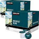 Kirkland Signature Kirkland Breakfast Blend Coffee Pods 25 Count for Keurig Brewer Caffeinated Coffee