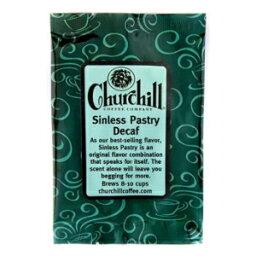 チャーチルコーヒー罪のないペストリー5パック-各1.5オンス-挽いたもの(カフェイン抜き) Churchill Coffee Company Churchill Coffee Sinless Pastry 5 pack--1.5 oz each - Ground (Decaf)