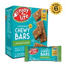 Life Chewy Bars、大豆フリー、ナッツフリー、グルテンフリー、乳製品フリー、非GMO、キャラメルアップル、1ボックス(5バー)をお楽しみください Enjoy Life Foods Enjoy Life Chewy Bars, Soy free, Nut free, Gluten free, Dairy free, Non GMO,