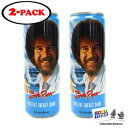 Gosu Toys Bob Ross Positive Energy Drink 12 FL OZ (355mL) Can (2 Pack) With 2 GosuToys Stickers