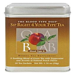 The Blood Type Diet D'Adamo - Sip Right 4 Your Type Tea B - Loose Tea Blend
