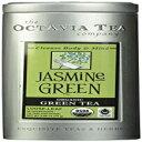 Octavia Tea Jasmine Green (Organic, Fair Trade Certified Green Tea) Loose Tea, 2.65 Ounce Tin