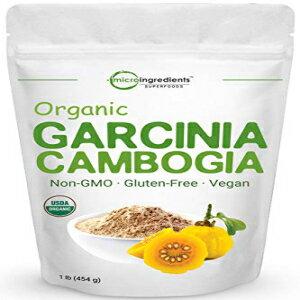 ダイエット・健康, その他 Micro Ingredients Organic Garcinia Cambogia Weight Loss Powder, 1 Pound (454 Grams), Pure Garcinia Supplement, Natural Appetite Suppressant and Fat Burn Supplements for Men and Women, No GMOs and Vegan Friendly