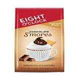チョコレート・スモアーズ、エイト・オクロック・コーヒー・インダルジェント・ブレンド・グランドコーヒー、チョコレート・スモアーズ、10オンス Chocolate S'mores, Eight O'Clock Coffee Indulgent Blends Ground Coffee, Chocolate S'Mores, 10 Oz