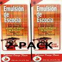 Menper Emulsion De Escocia Orange 15.3 Oz. Cod Liver Oil 2-Pack