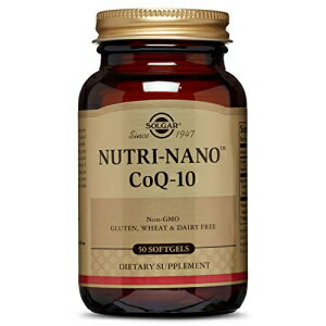 サプリメント, その他 Solgar Nutri-Nano CoQ-10 3.1 X Supplement, 50 Count