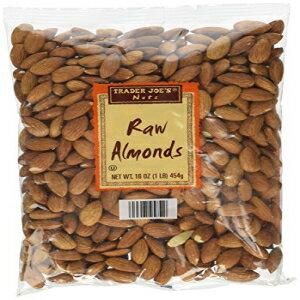 スナック菓子, その他 16 Trader Joes Raw Almonds 16 Oz