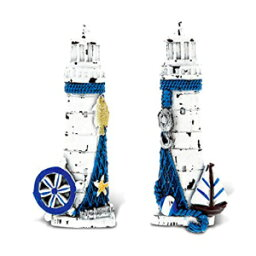 CoTa Global Lighthouse - 3D Designs - Nautical Blue Magnet (2pc Set) - Item #7588