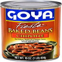 Goya Foods Baked Beans, Chipotle, 16 Ounce (Pack of 24)