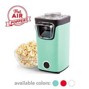 生活家電, その他生活家電 DASH DAPP155GBAQ06 Turbo POP Popcorn Maker, 8 Cups, Aqua