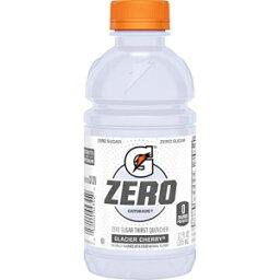 ゲータレードGゼロサーストクエンチャー、グレイシャーチェリー、12オンス、24カウント Gatorade G Zero Thirst Quencher, Glacier Cherry, 12 Ounce, 24 Count