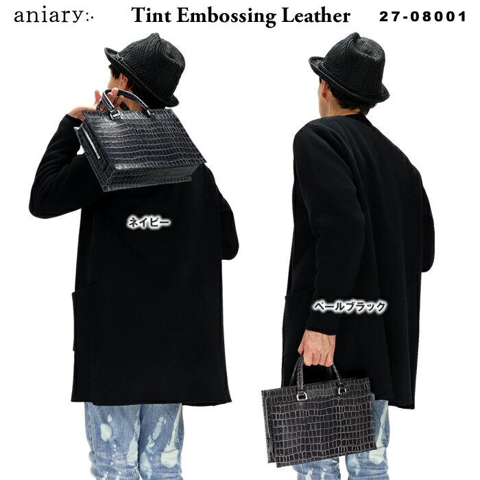 メンズバッグ, クラッチバッグ・セカンドバッグ  aniary Tint Embossing Leather 27-08001