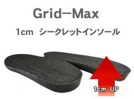 Grid-Max1cmシークレットインソール