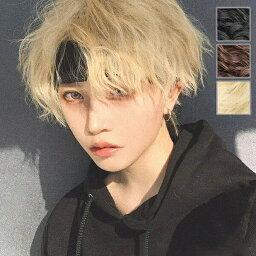 フルウィッグ メンズ 短髪 巻き毛 パーマ かつら 超自然 ウィッグ コスプレウィッグ 可愛い ショート 耐熱ウィッグ 黒 ブラウン ゴールド 金髪 小顔効果抜群 コスチューム dp052n1n1d4