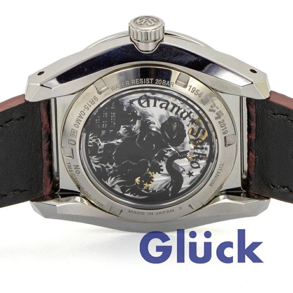 【新品】セイコー【限定モデル】グランドセイコーゴジラ65周年記念モデル世界限定650本SBGA405Gグリュック