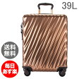 TUMI トゥミ スーツケース 39L コンチネンタル・キャリーオン 0228661COP2 コッパー(Copper) 19 Degree Polycarbonate Continental Carry-On Copper キャリーケース キャリーバッグ