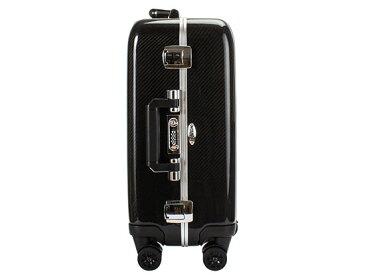 【赤字売切り価格】ゼロハリバートン スーツケース 31L カーボンファイバー キャリーオン 4輪 スピナー トラベルケース ZCB19-Stealth ブラック Carbonfiber Carry-On 4-wheel Spinner 海外 旅行 キャリーケース[glv15]