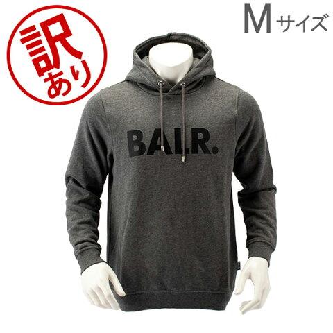 【訳あり】 ボーラー BALR スウェットパーカー B10005 Brand Hoodie パーカー スウェット トップス フーディ 長袖 ロゴ カジュアル スポーツ サッカー