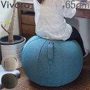 ビボラ Vivora シーティングボール ルーノ シェニール バランスボール 65cm Luno Chenille ヴィヴォラ 椅子 デザイン ソファー おしゃれ