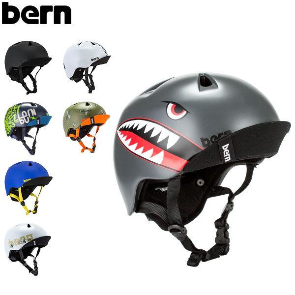 バーンBernヘルメット男の子用ニーノオールシーズンキッズ自転車スノーボードスキースケボーVJBNinoスケートボードBMXニノ
