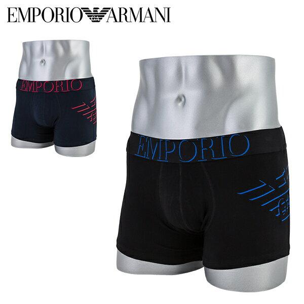 インナー・下着, ボクサーパンツ  Emporio armani 1117769P725 Underwear Boxer Laminated Eagle