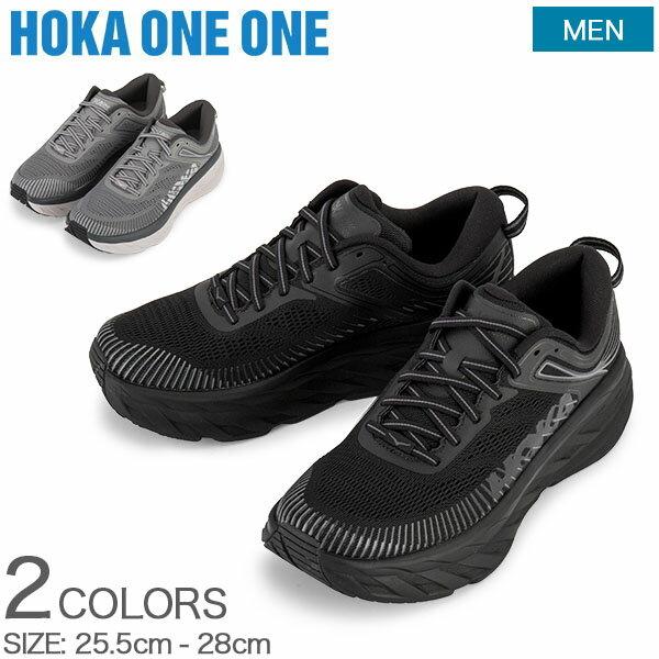 シューズ, メンズシューズ GW Hoka One One 7 BONDI 7 1110518 Road Running