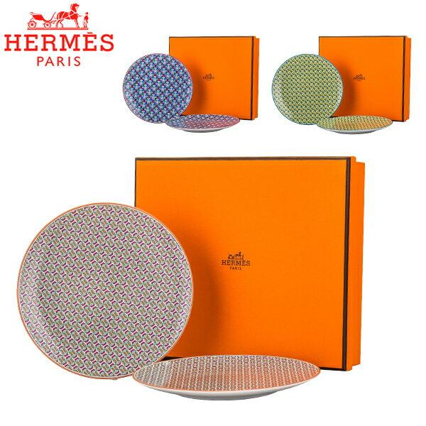 HERMES dishes Hermes 14cm 2 TIE SET Bread and Bu...