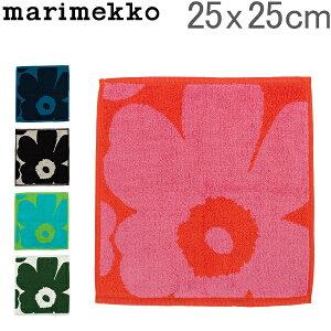 マリメッコ Marimekko ミニタオル ハンドタオル ウニッコ コットン 25×25cm 063837 UNIKKO MINI TOWEL 北欧雑貨 ハンカチ かわいい あす楽