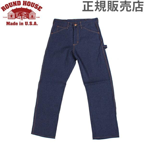メンズファッション, ズボン・パンツ  Round House 101 Mens Five-Pocket Carpenter Dungarees 5