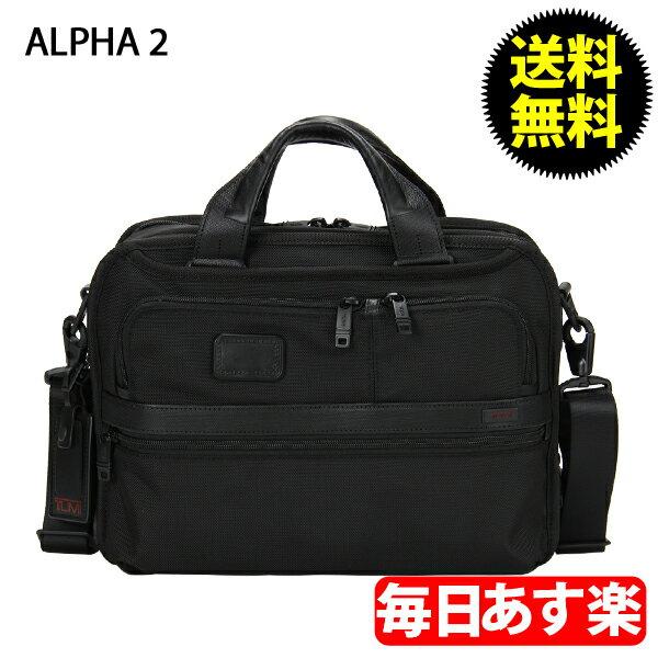 TUMI トゥミ 26120D2 ALPHA2 アルファ2 スモールスクリーン エックスパンダブル ラップトップ ブリーフ ブラック:GULLIVER Online Shopping