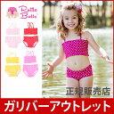 【アウトレット】ラッフルバッツ 水着 5歳 スイムウェア 水着 キッズ 可愛い デザイン 機能性 Ruffle Butts