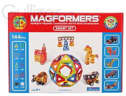 【特別価格12/27迄】Magformersマグフォーマー144ピースSmartSetスマートセットおもちゃ玩具知育玩具キッズ63082