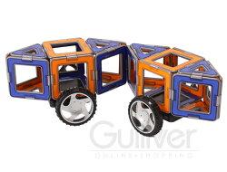 Magformersマグフォーマー32ピースXLCruisersSetXLクルーザーズセットOrange/Blueオレンジ/ブルーRed/Yellowレッド/イエローおもちゃ玩具知育玩具キッズ63073