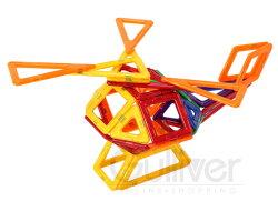 Magformersマグフォーマー62pcsマルチカラーおもちゃ知育玩具キッズ