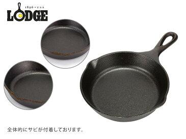 【訳あり】Lodge ロッジ ロジック スキレット 6-1/2インチ L3SK3 Lodge Logic Skillet フライパン グリルパン アウトドア 新生活